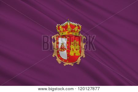 Flag Of Burgos Is A Province Of Northern Spain