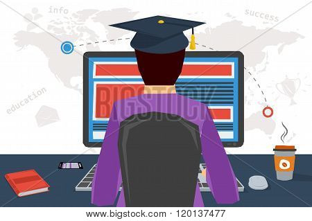 Distance Online Education