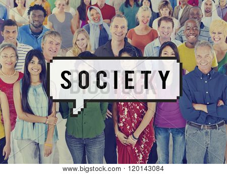 Society Network Community Connection Citizen Concept