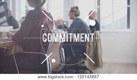 Commitment Compliance Obligation Responsibility Concept
