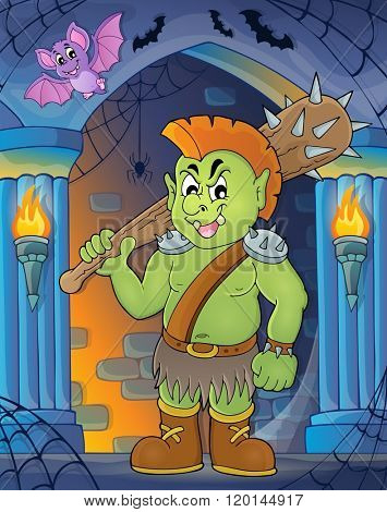 Orc theme image 3 - eps10 vector illustration.