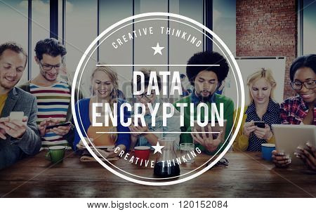 Data Privacy Digital Access Information Network Concept