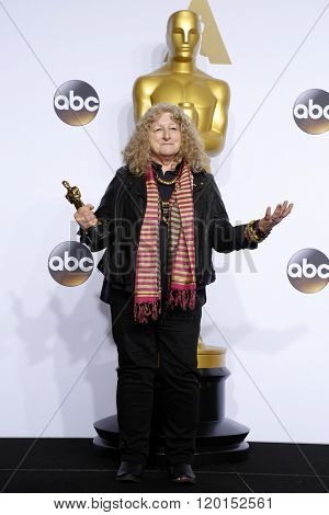 LOS ANGELES - FEB 28:  Jenny Beaven at the 88th Annual Academy Awards - Press Room at the Dolby Theater on February 28, 2016 in Los Angeles, CA