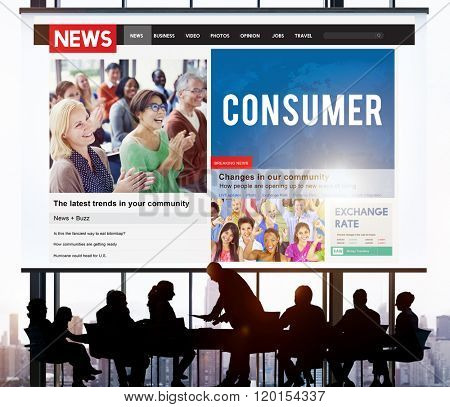 Consumer Buyer Marketing Business Concept
