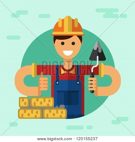 ?onstruction builder or worker