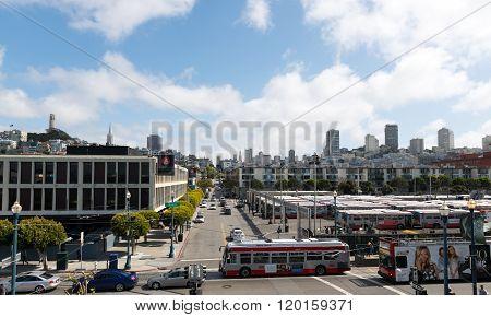 Street View At San Francisco