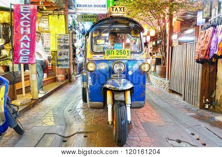 Typical Auto Rickshaw Taxi Worldwide Known As
