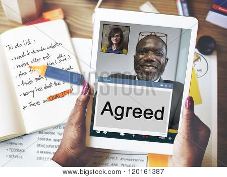 Agreement Deal Collaboration Cooperation Concept