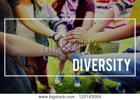 Diversity Multi Racial Community People Concept