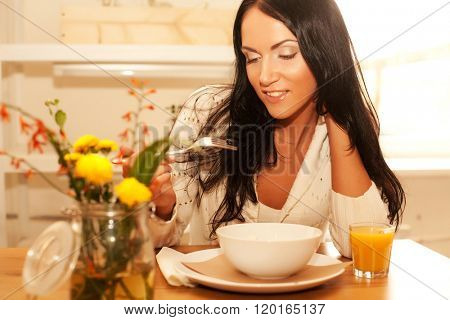 Goog breakfast for young lady