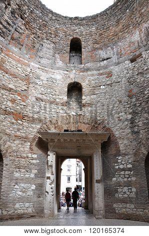 The Vestibule Of Diocletian's Palace, Split