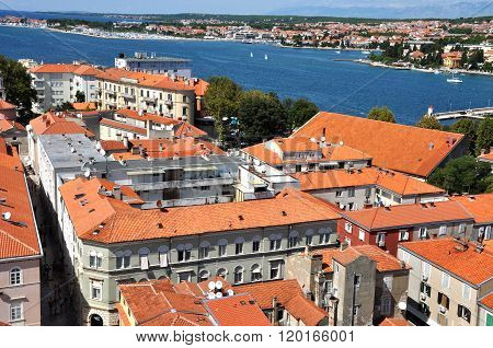 Zadar City, Mediterranean Coast, Croatia