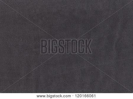 Gray Denim Textile Texture.