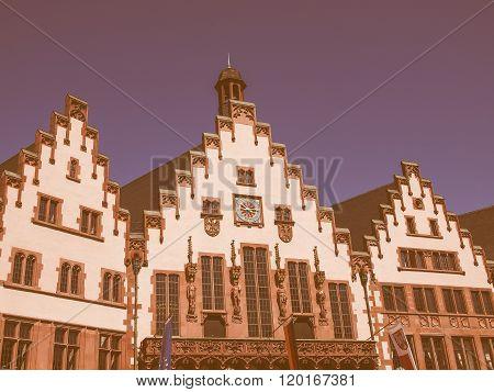 Frankfurt City Hall Vintage