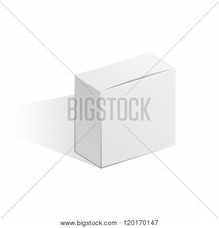 White narrow box.