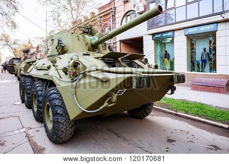 Nona-svk 120Mm Self-propelled Mortar Carrier