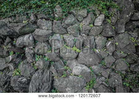 Stonewall Grey Texture Background.