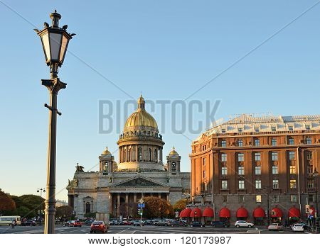 Vintage Street Lamp, St. Isaac's Cathedral