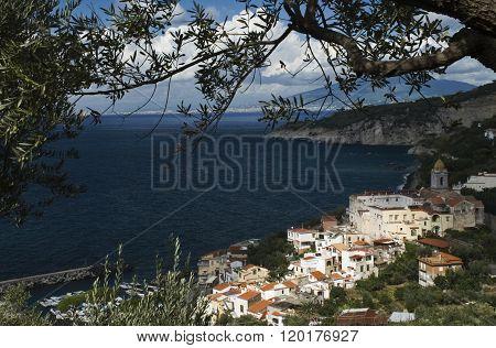 the village on the sea