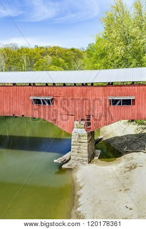 Covered Bridge Abutment