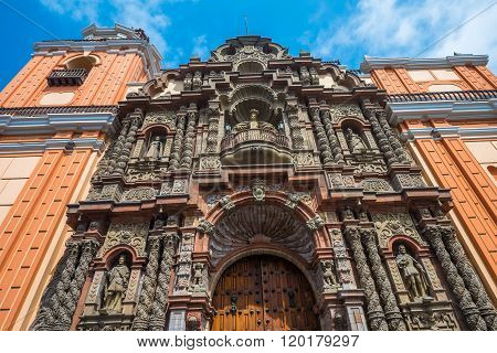 Basilica De Nuestra Senora De La Merced, Lima, Peru