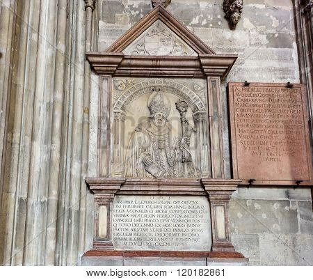 VIENNA, AUSTRIA - NOVEMBER 2015: Saint Stephen's Cathedral Stephansdom the mother church of the roman catholic archdiocese on 20th of November 2015 in Vienna.