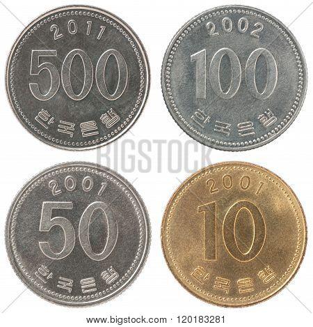 Set Coin Korean Won