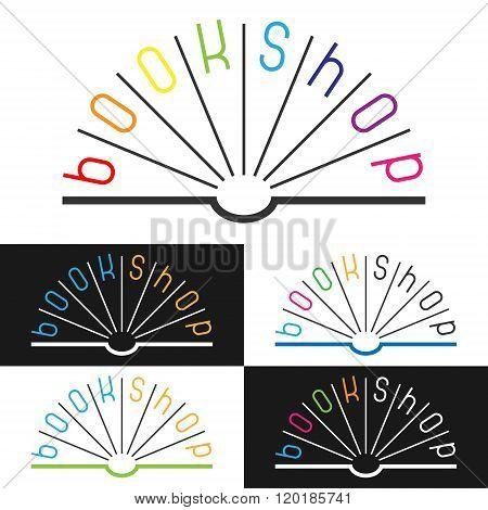 Book Shop Logo.