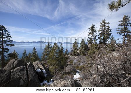 View Over South Lake Tahoe