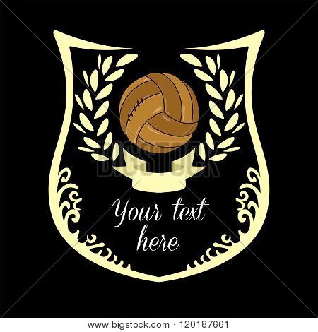 Soccer logo, emblem