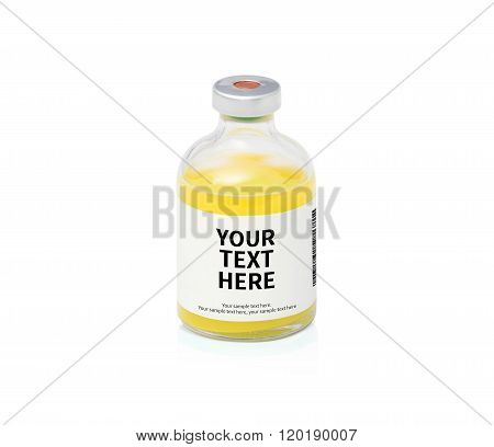 Alternative Medication with blank label