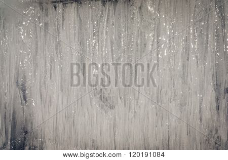 Baikal Lake Ice Texture