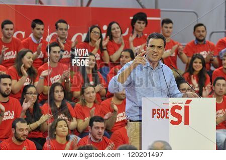 Rally Of The Spanish Socialist Workers' Party (psoe)