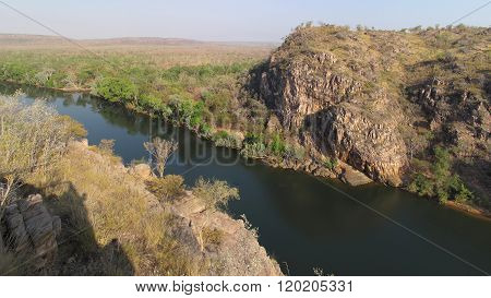 Panoramic view over Katherine Gorge, Northern Territory, Australia