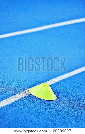 Blue Sprint Track