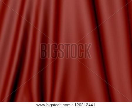 Red curtain background texture.