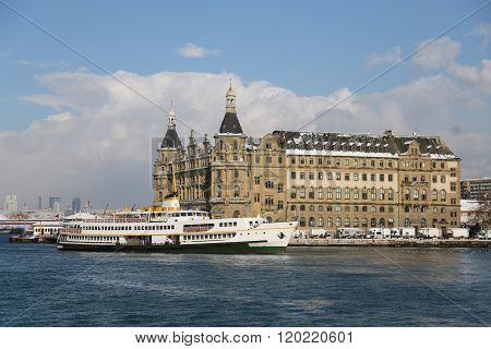 Haydarpasa Train Station In Istanbul City, Turkey