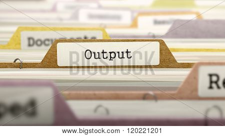 Output - Folder Name in Directory.