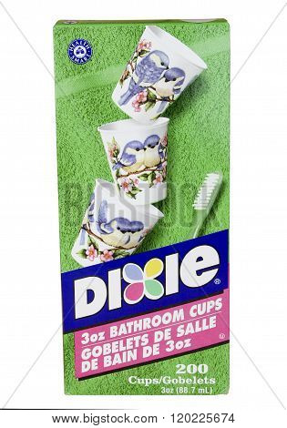Box Of Dixie Drinking Cups