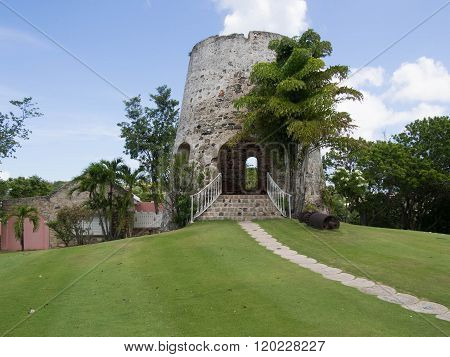 Sugar Mill In St. Croix