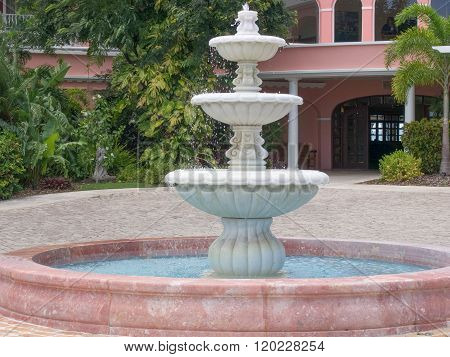 Water Fountain In St. Croix