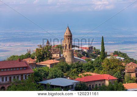 Sighnaghi, The Beautiful Old Town In Kakheti Region, Georgia