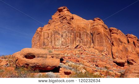 Snow Canyon In St. George, Utah