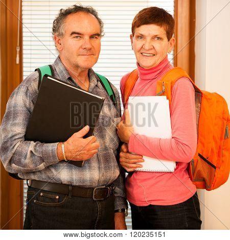 Older Couple Representing Lifelong Learning.