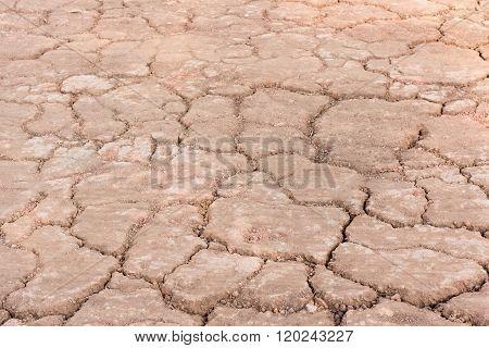 Cracked groundDry land. Cracked ground backgroundDry cracked ground filling the frame as background