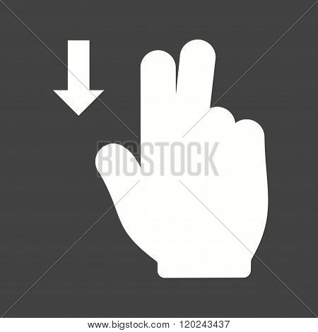 Two Fingers Down