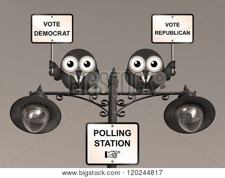 Sepia USA Election