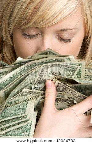 Mujer de dinero
