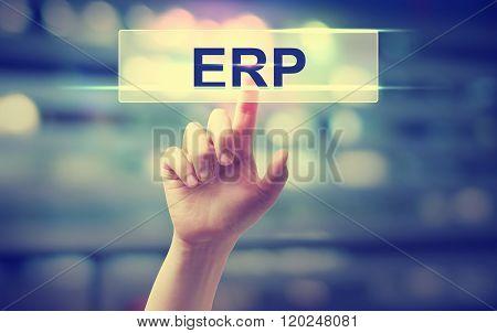 Erp - Enterprise Resource Planning Concept