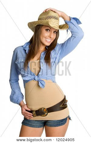 Schöne Cowgirl